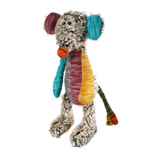 Hunter Dog Toy Patchwork Hobbs Mouse 45 cm