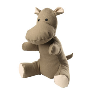 Hunter Dog Toy Canvas Hippo, approx. 26 cm