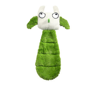 Hunter Dog Toy, Plushy Owl - Green - 30 cm