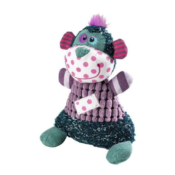 Dog Toy Patchework Perry Monkey