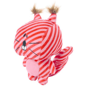 Hunter Dog Toy Striped Stars Squirrel - 17 cm