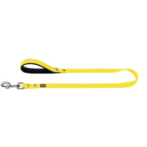 Hunter Convenience Comfort Neon Yellow Leash 2cm x 120 cm